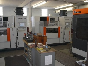 EDM Wire Machine